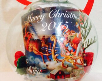Personalized Christmas Party Ornament