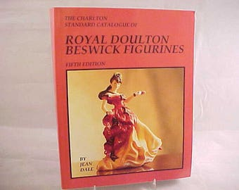 Vintage Royal Doulton Beswick Figurines 5th Edition by Jean Dale, The Charlton Standard Catalogue, Reference Book From 1996