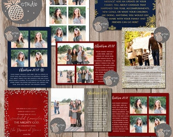 Upgraded Back Options for Holiday Cards