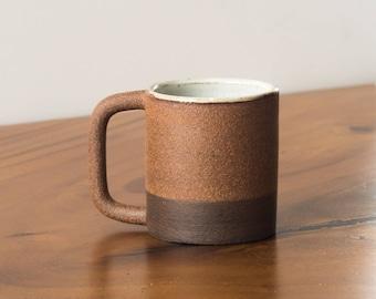 Ceramic Coffee Mug  [Stoneware Mug, Two-tone Mug, Handled Mug, Tea Mug, Cup ]