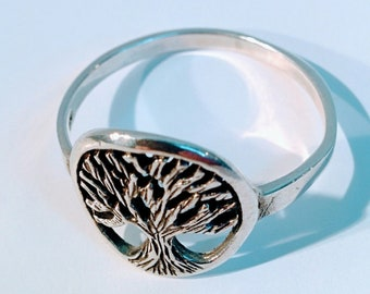 Tree of Life, Sterling Silver, Ring,