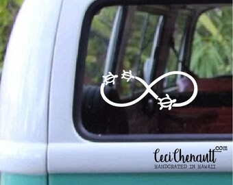Infinity and Turtles Decal 589