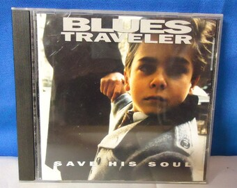 """042618 06 Used Blues Traveler """"Save His Soul"""" CD A & M 31454 0080 2"""