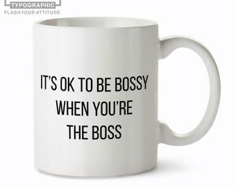 Lady Boss Mug- Mug for Boss - Girl Boss Mug