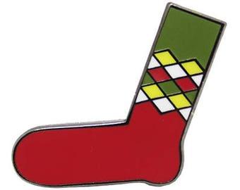Happy Socks 8 Hard Enamel Pin