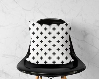 Swiss Cross - Pillow cover, Scandinavian decor, Swiss cross pillow, Swiss Cross Pillow Case, Cushion Cover