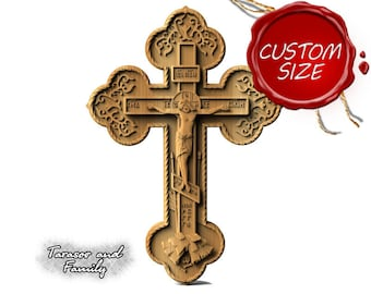 Christian wall art religious wood carving artistic cross wooden catholic carved crucifix hanging orthodox home decorative cross decor gifts