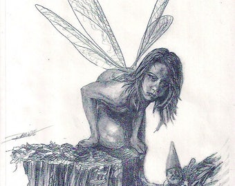 RUNE BOOKS Pencil Illustration By Chris Range