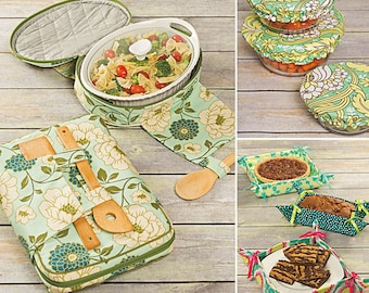 Simplicity pattern 1236 Casserole Carriers, Gifting Baskets and Bowl Covers. Home Decor sewing pattern . One size. New and uncut.