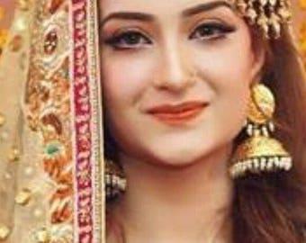 bahawalpuri jhumki Pakistani / Indian Jewelry