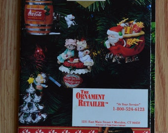 1992 Enesco Treasury of Christmas Ornament Brochure