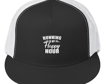 Running is my Happy Hour - Trucker Cap