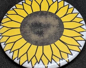Sunflower Button/Pin