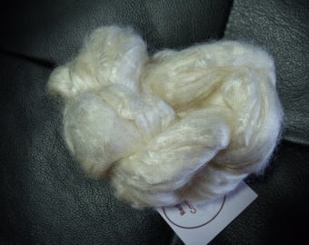 Tussah Silk roving for spinning