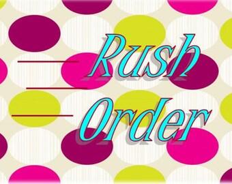 Winnies Cakes Rush Order