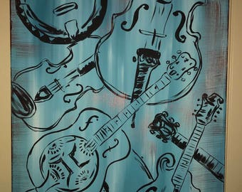 Bluegrass Canvas Painting