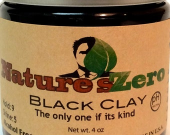 Black Clay - Hair styling clay