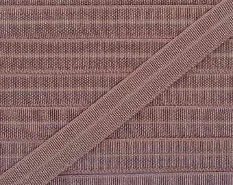 3/8 GINGERSNAP Fold Over Elastic 5 or 10 Yards