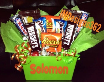 Personalized Candy Bouquet
