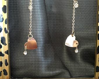 Gold Fashion Earrings, jewelry, earrings, stocking stuffers, for christmas, her accessories, earrings, jewelry, chain earrings