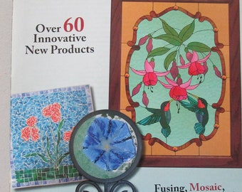 Stained glass patterns back issue Glass Patterns Quarterly Magazine Summer 2008 vol 24 NO 2