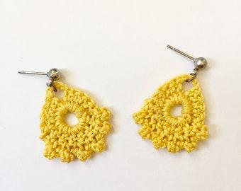 Tear Drop Earrings / Crochet Earrings / Boho Earrings / Handmade Earrings / Handmade Jewelry / Gifts for Women / Mother's Day Gifts