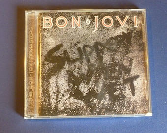Bon Jovi Slippery When Wet CD 314 538 089-2 Mercury 1986
