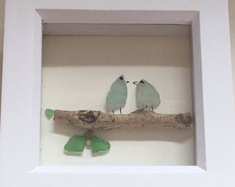 Sea glass song birds
