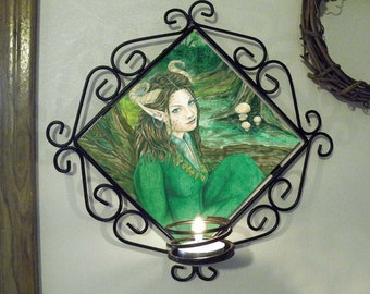 Lady of the Forest Wall Sconce