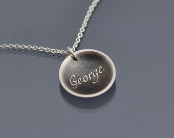 Sterling Silver George Necklace
