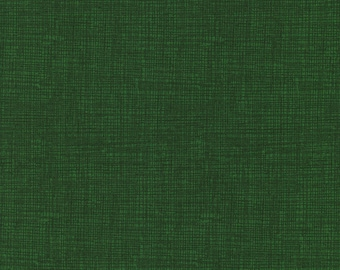 Sketch Fabric By The Yard - Choose Solid Green or Brown Fabric - Christmas Fabric Yardage - Choose Fat Quarter, Half Yard or By The Yard