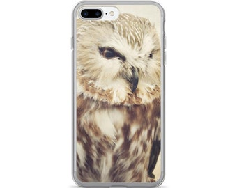 Owl iPhone Case, Owl Samsung Galaxy Case, Owl iPhone 8 Plus Case, Bird iPhone Cover, Wildlife iPhone Case, Cute Owl Gift Idea Under 30