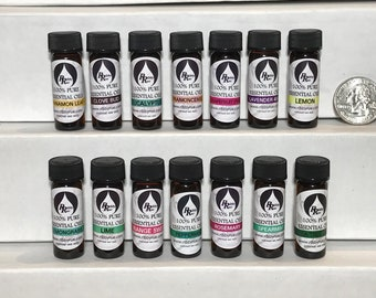 14 Set -100% Pure Therapeutic Grade Essential Oils 4 ml Set