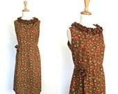 Vintage Shift Dress - she...