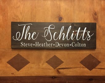"""Family Sign 