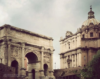 Before the Storm - Italy photography, The Forum, Rome photograph, fine art photo, Rome art print, travel photography