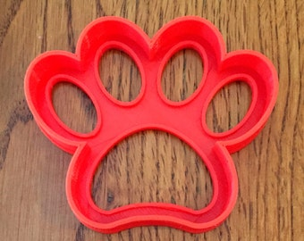 Paw Print cookie and fondant cutter