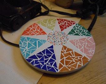Mosaic Trivet - Compass