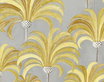 Fabric, 280L, tropical, exotic, Palm, Palm, Thévenon