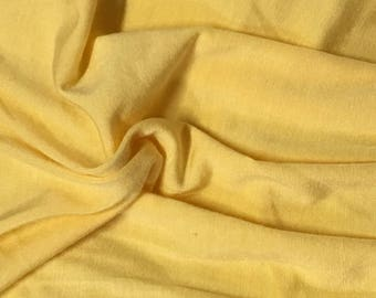 Modal Spandex Jersey Premium Knit Fabric Eco-Friendly Mango 9.5 oz