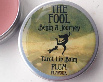 The Fool Tarot Lip Balm Plum Flavour