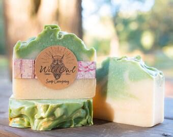 Winter Pear,  Natural Handmade Soap