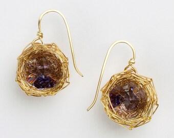 Nest Earrings - Small