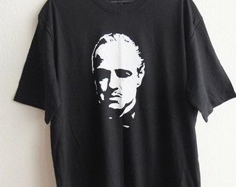 Brando The Don Black T-Shirt L