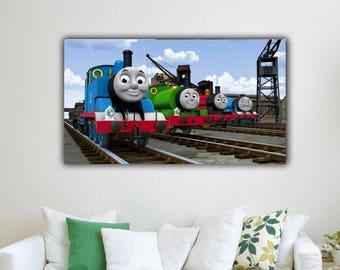 Thomas the train room decor   Etsy