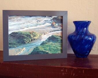 Ozean Sea Gezeiten Sand Strand abstrakte CMYK Siebdruck 5 x 7 Original Siebdruck - SET aus 7 Drucke