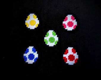Yoshi Egg Magnets