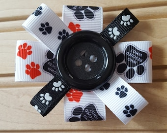 Dog Rescue Hair Bow