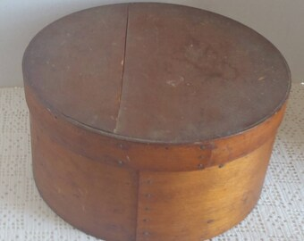 Vintage Pantry Box Nailed Construction with Lid