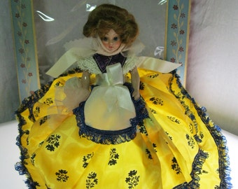 Dolls of All Nations Polish Girl - 1940's with Original box